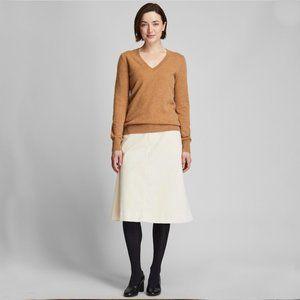 Uniqio 100% cashmere V-Neck Sweater Size M